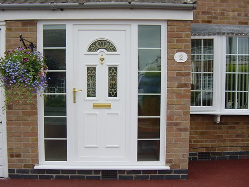 Pvc Front Door Insulation Glass